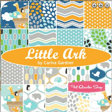 Fabric Swatch Samples for Little Ark by Riley Blake Designs